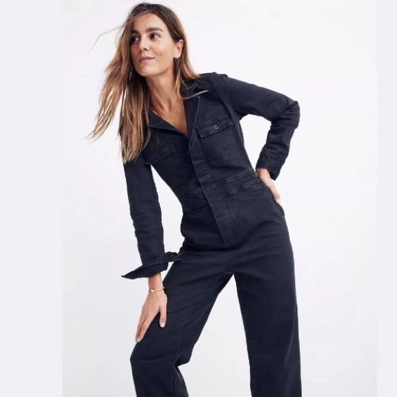543d23889a05 Madewell s Coverall Jumpsuit in black